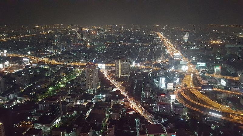 Bangkok, dal Bayoke hotel