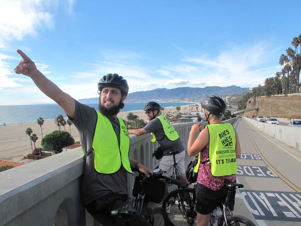 LA in a day bike tour3
