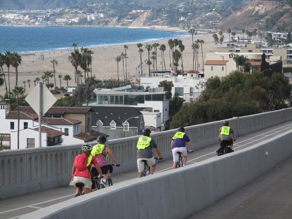 LA in a day bike tour5