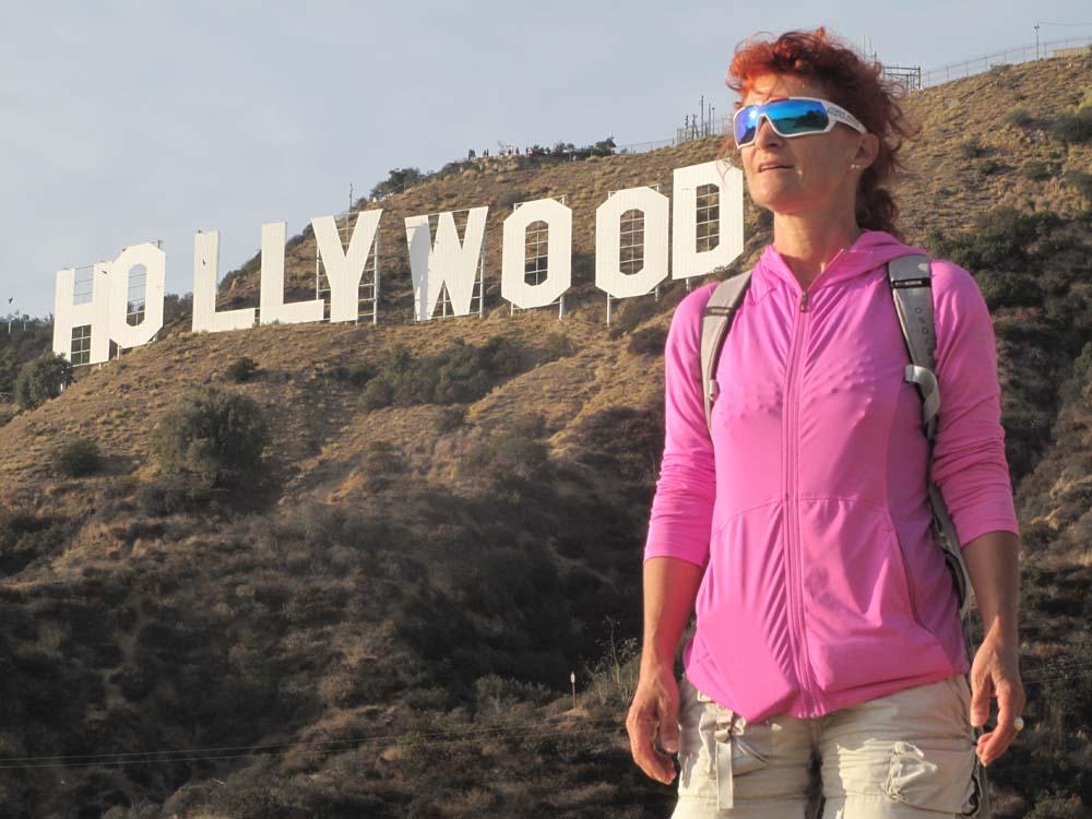 Mount Lee - Hollywood sign2