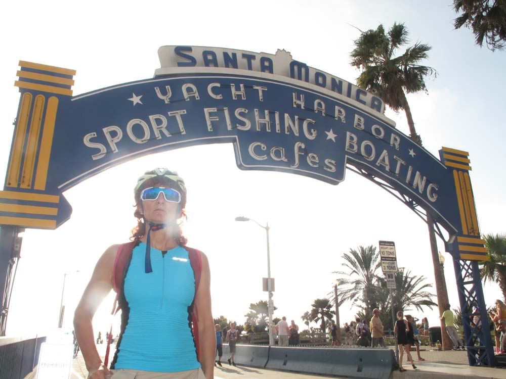 Sta Monica historical pier