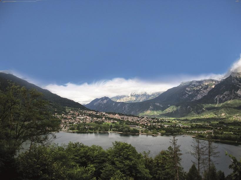 levico Terme e il lago - foto E. De Luca
