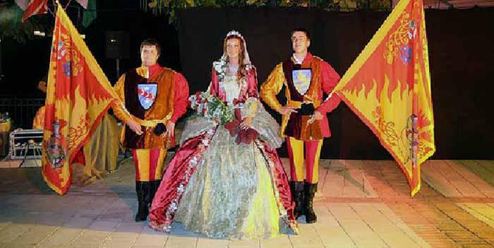 Bagnoli sfilata in costume