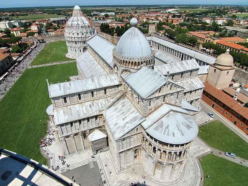 Pisa_DuomoVistoTorre_FrancescoGasparetti