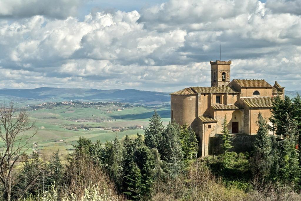 Chianni, village panoramic view