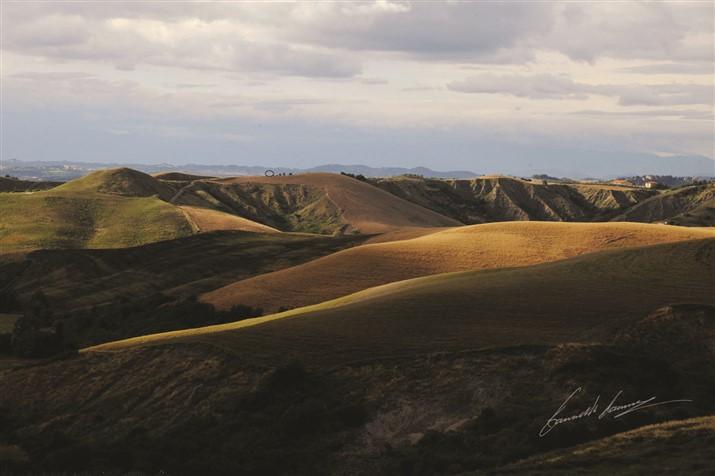 Volterra, panorama esterno