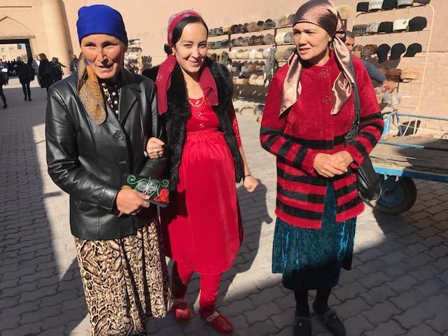 Khiva a passeggio