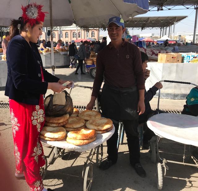 Samarcanda Al mercato