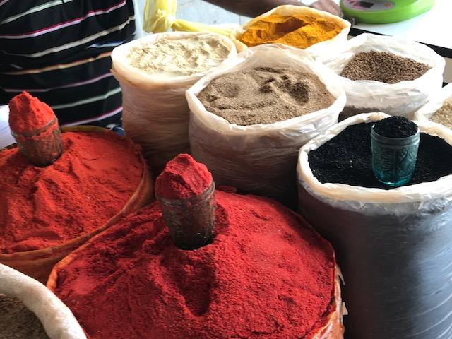 Samarcanda Mercato delle spezie