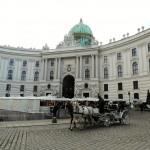 vienna palazzo reale con carrozza
