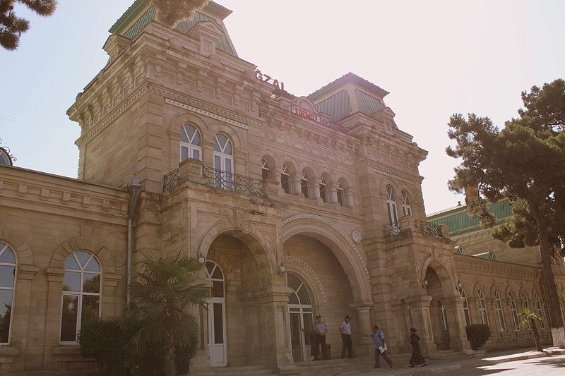 Khachmaz stazione dei treni