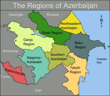 Regioni dell'Azerbaigian