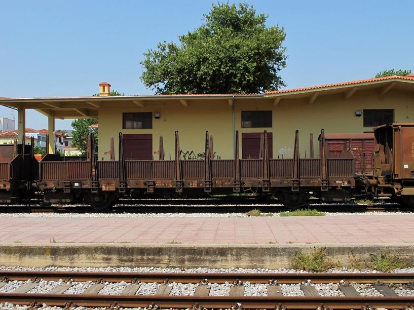 treno pilion carri merci