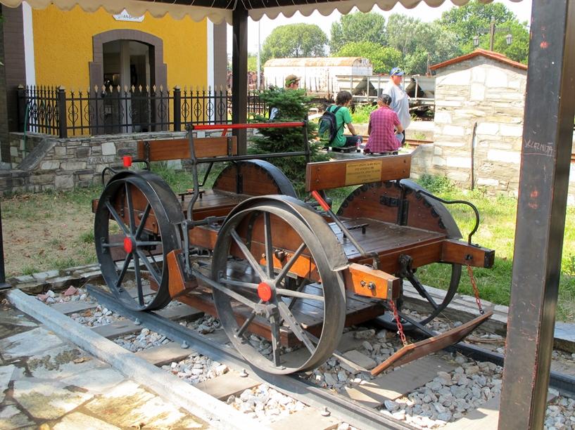 treno pilion carro museo