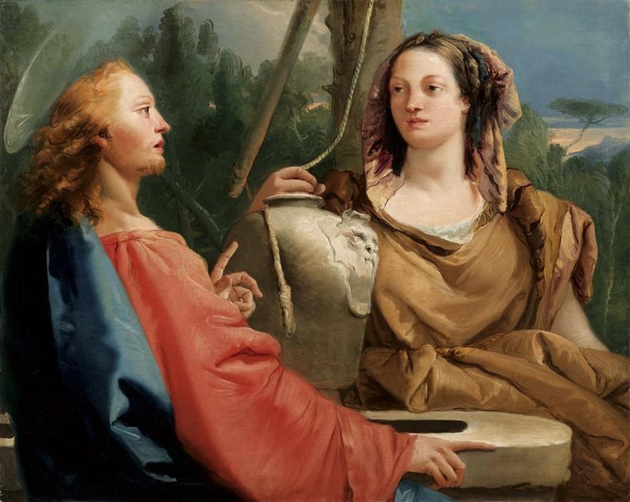 Giandomenico Tiepolo_Cristo e la samaritana