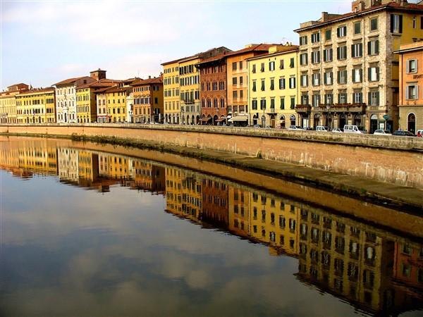 Pisa, Lungarno Pacinotti