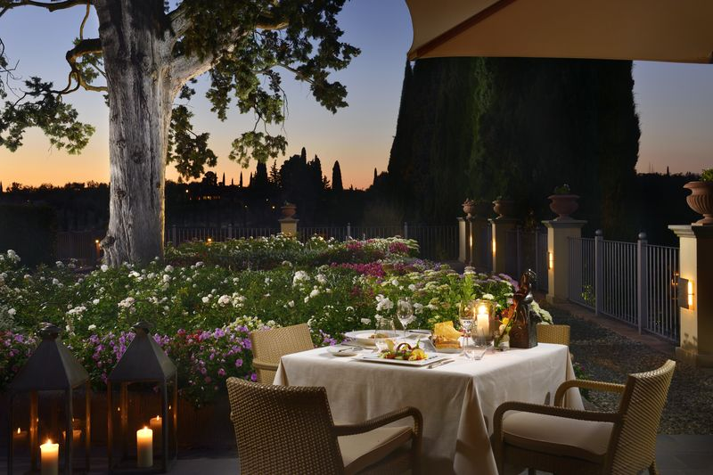Garden Terrace Cena
