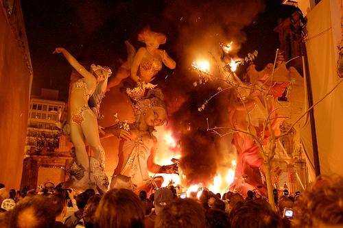 Las-Fallas-Burned-Fire