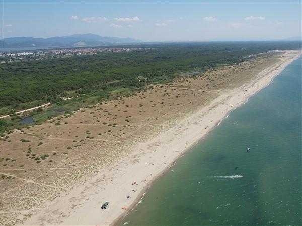 Spiaggia Levante fotoarchivio Provincia di Lucca