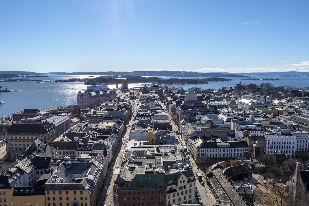 Bianco inverno a Oslo