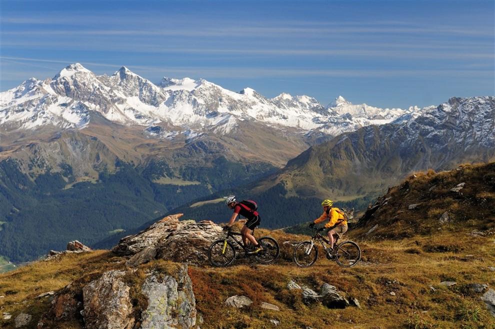 Svizzera a contatto con la natura