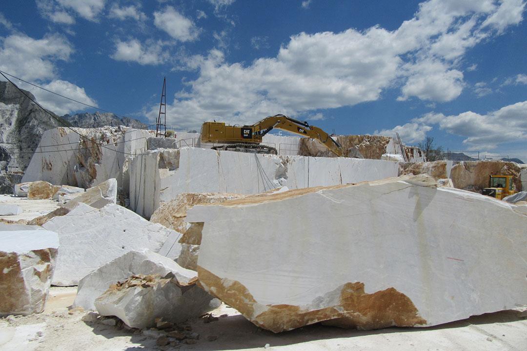 Carrara la regina del marmo
