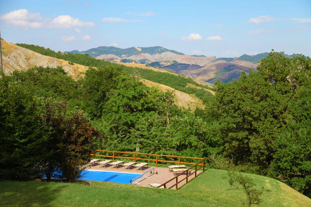Valle del Sillaro nel bolognese