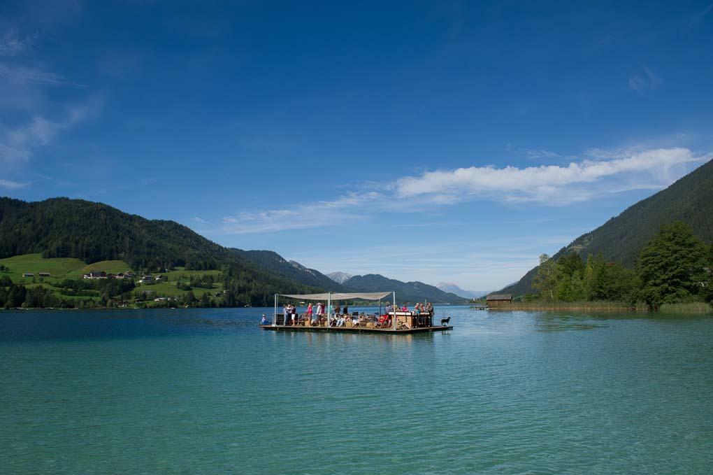 Weissensee, il bianco lago della Carinzia
