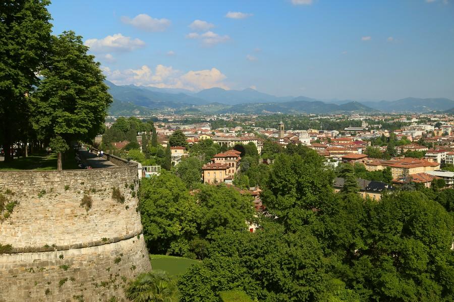 Città Alta a Bergamo