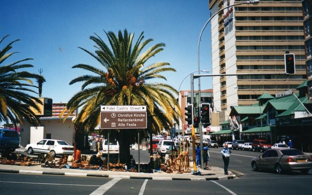 Namibia, l'Africa su rotaia