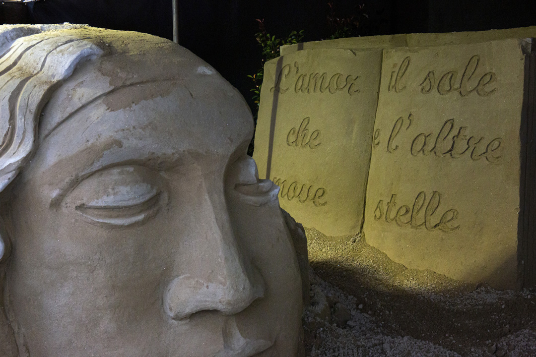 Bellaria Igea Marina, amore dantesco