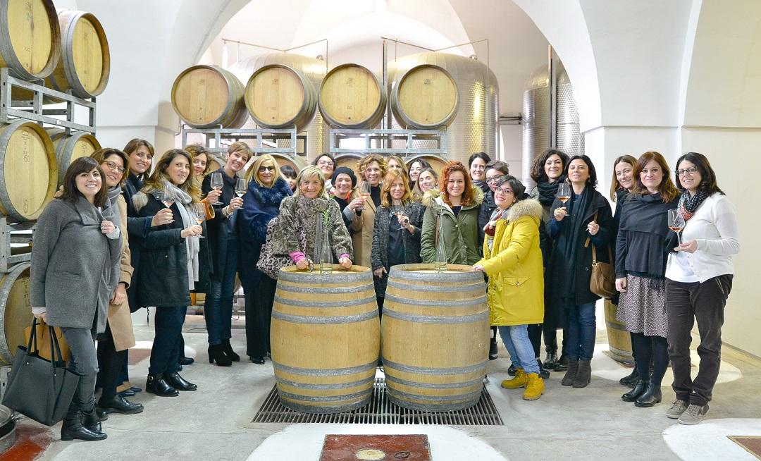 Quel legame intenso donne vino