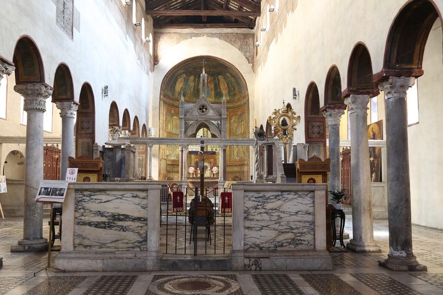 La Bocca della verità a Roma